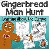 Gingerbread Man Activities Campus Hunt