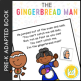 The Gingerbread Man: Adapted Book for Students with Autism
