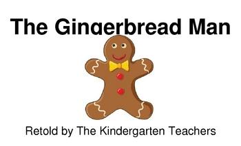 The Gingerbread Man Big Book (version)