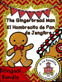The Gingerbread Man Bilingual Bundle