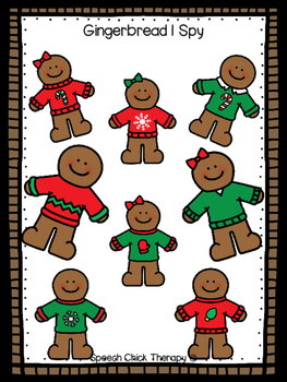 Yummy Gingerbread Activities for Speech and Language