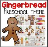 The Gingerbread Man Book Companion- Preschool