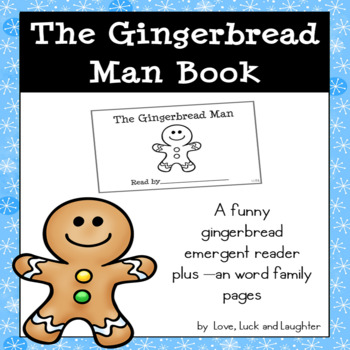 It's just a photo of Fabulous Gingerbread Man Printable Book