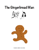 The Gingerbread Man Book with Sign Language Translation