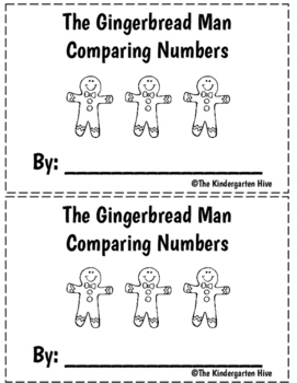 The Gingerbread Man Comparative Language:  A Counting Book