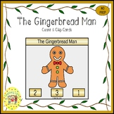 The Gingerbread Man Clip Task Cards