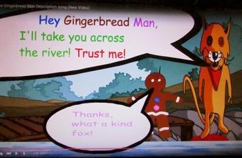 The Gingerbread Man Description Song
