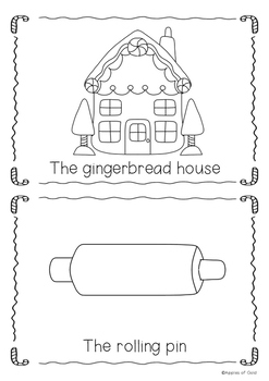 The Gingerbread Man Emergent Readers **FREEBIE**
