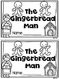 The Gingerbread Man Emergent Reader and Writing Prompt {Kindergarten}