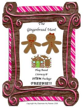 The Gingerbread Man FREEBIE!!