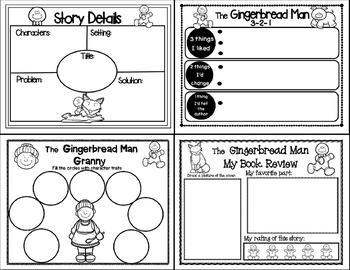 The Gingerbread Man (Folktale Companion)