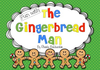 The Gingerbread Man {Fun Math and Literacy Activities}