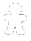 Christmas activity/ K, 1st, 2nd/ The Gingerbread Man Gets