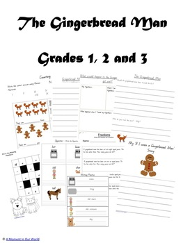 The Gingerbread Man Grades 1 2 3