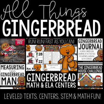 The Gingerbread Man: Guided Reading Text and Activities