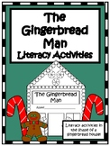 The Gingerbread Man- K/1st Gingerbread House Literacy Acti