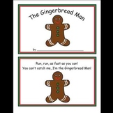The Gingerbread Man Kindergarten Math Workbook