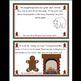 The Gingerbread Man Kindergarten Math Workbook