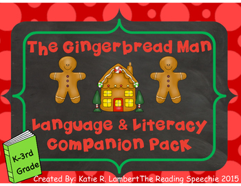 The Gingerbread Man Language and Literacy Companion #decSL