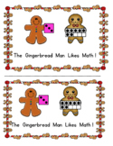 The Gingerbread Man Likes Math - Sight Word and Subitizing Reader