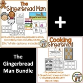 The Gingerbread Man Literacy Activities and Cooking Bundle