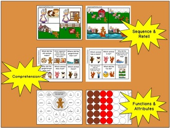 The Gingerbread Man:  Literacy, Language and Listening Book Companion