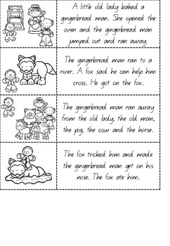 The Gingerbread Man - Literacy Unit