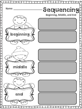 The Gingerbread Man Literacy Unit: Comprehension and Writing Activities