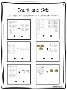 The Gingerbread Man Literacy and Math Activities