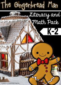 Gingerbread Man Literacy and Math Pack
