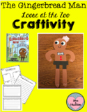 The Gingerbread Man Loose at the Zoo Craftivity