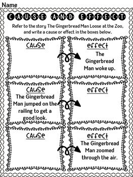 The Gingerbread Man Loose at the Zoo by Laura Murray  ~ Book Companion