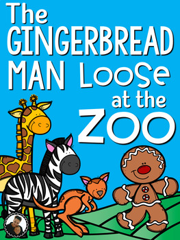 The Gingerbread Man Loose at the Zoo by Laura Murray  ~ Bo