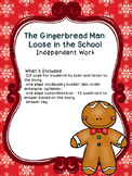 The Gingerbread Man Loose in the School Independent Work
