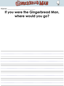 The Gingerbread Man Loose in the School Worksheets