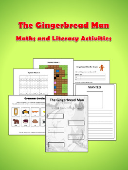 The Gingerbread Man - Maths and Literacy Activities