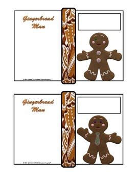 The Gingerbread Man Mini Fold-Ems and Activities