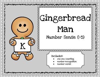 The Gingerbread Man Number Sense Book