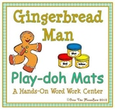 The Gingerbread Man Playdoh Activity Pack