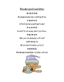 The Gingerbread Man Poetry  Packet Activites