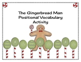The Gingerbread Man Positional Vocabulary Review