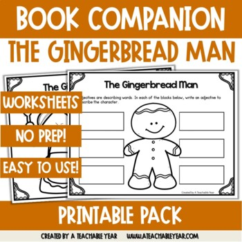 The Gingerbread Man- Book Companion