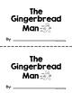 The Gingerbread Man Printable Reader