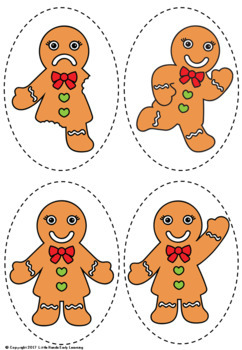 The Gingerbread Man Puppets