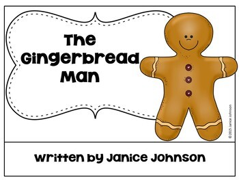 The Gingerbread Man Reader ~ Simplified for Young Readers