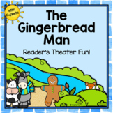 The Gingerbread Man - Reader's Theater & Puppet Fun!