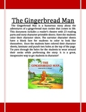 The Gingerbread Man Reader's Theatre
