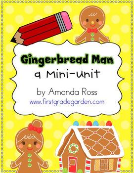 The Gingerbread Man {Reading & Writing Mini-Unit}