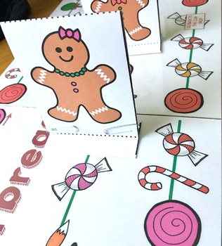 Christmas Speech Therapy The Gingerbread Man Runs Home