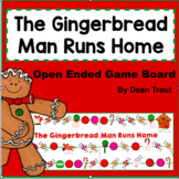 The Gingerbread Man Runs Home | Christmas Open-Ended Game for Speech Therapy